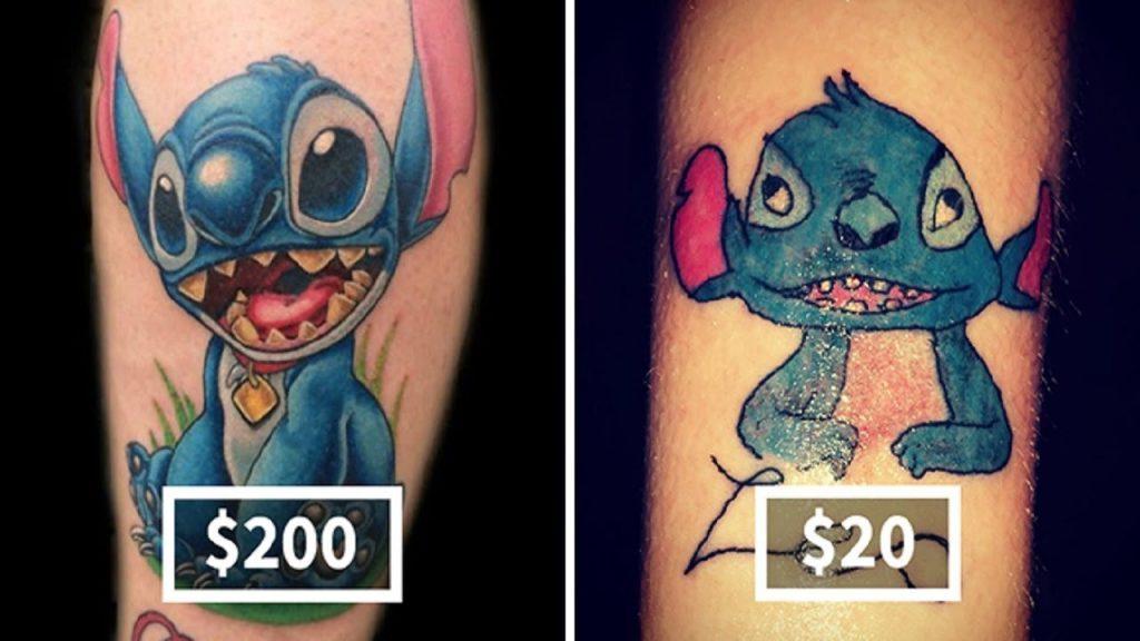 тату цена пример стоимости татуировки