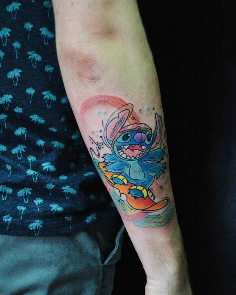 татуировка на руке от мастера Паши - ТатуКлубБай г. Минск.
