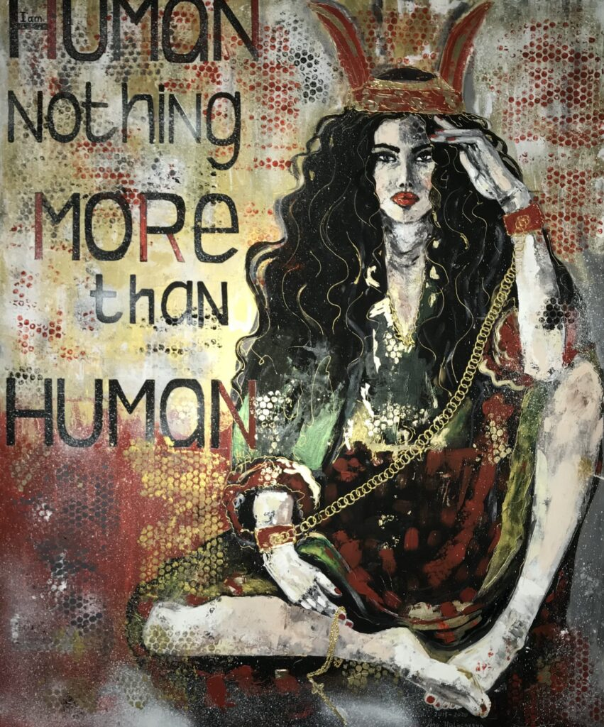 "Гриненко Анастасия ""I'm human. Nothing more then human"" 2018"